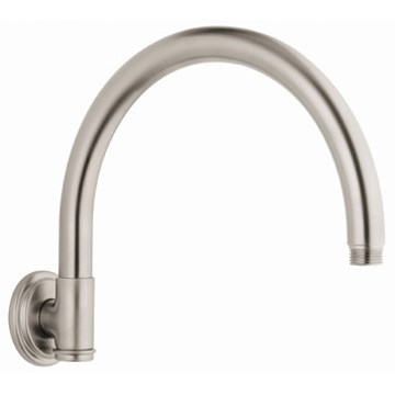 Grohe Rainshower Retro Shower Arm - Infinity Brushed Nickel