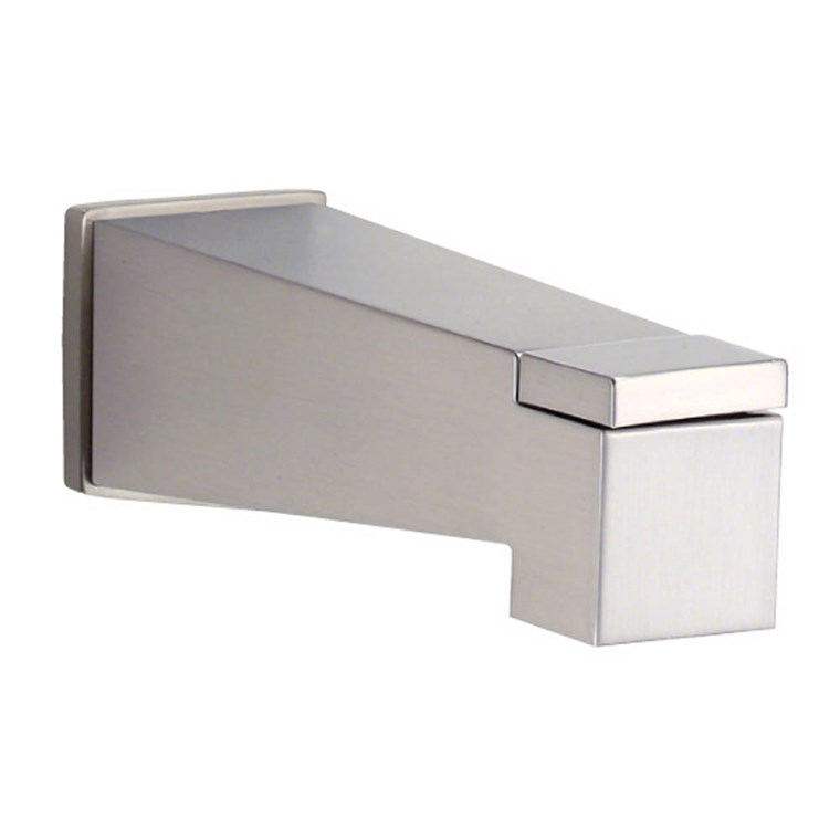 Danze Mid-Town Wall Mount Tub Spout with Diverter - Brushed Nickel DA606445BN