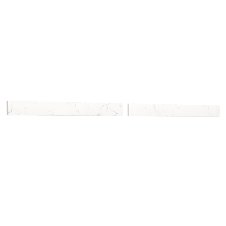 "Replacement 60"" Backsplash - Light-Vein Carrara Cultured Marble REPL-WC-VCA-60-BS-CC2"