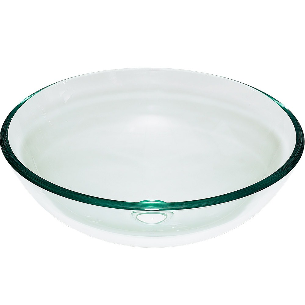 Clearwater Glass Vessel Sink - Clearnohtin