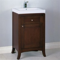 "Fairmont Designs 21"" Lifestyle Collection Shaker Vanity - Dark Cherry or Polar White"
