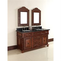 "James Martin 60"" Continental Double Vanity - Burnished Cherry 100-V60D-BCH"