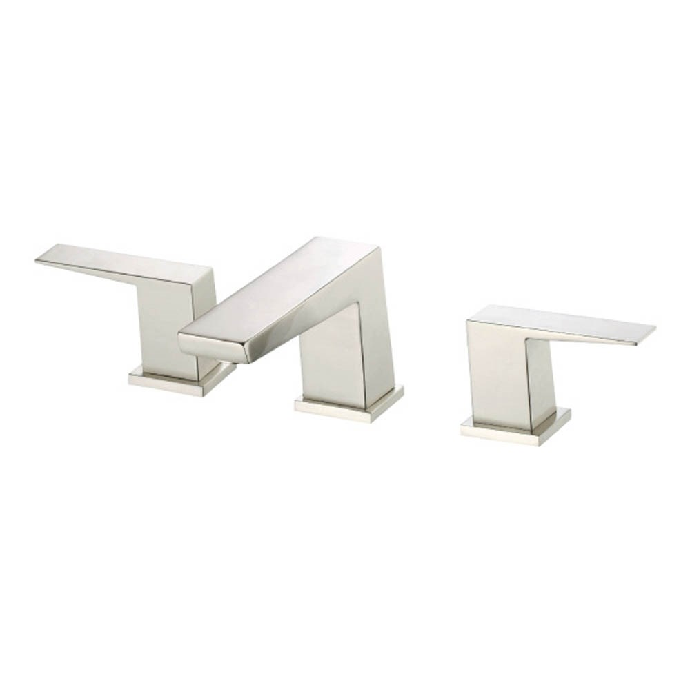 Danze Mid-Town 2H Widespread Lavatory Faucet w/ Metal Touch Down Drain 1.2gpm - Polished Nickelnohtin Sale $410.25 SKU: D304162PNV :