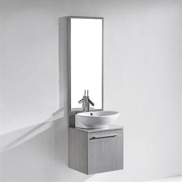"Madeli Alassio 18"" Bathroom Vanity, Ash Grey B900-18-002-AG by Madeli"