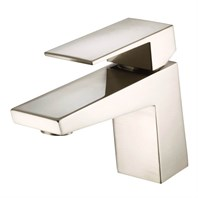 Danze Mid-Town 1H Lavatory Faucet Single Hole Mount w/ Metal Touch Down Drain 1.2gpm - Brushed Nickel D222562BN