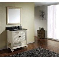 "Avanity Tropica 31"" Single Bathroom Vanity - Antique White TROPICA-V30-AW"