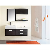 "Virtu USA Alicia 51"" Single Sink Bathroom Vanity - Espresso UM-3075-S-ES"