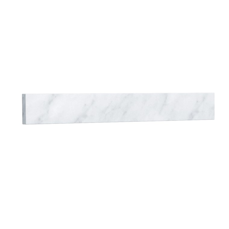 "Replacement 24"" Backsplash - White Carrara Marble REPL-WC-VCA-24-BS-CAR"