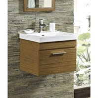 "Fairmont Designs Metropolitan 21"" Wall Mount Vanity & Sink Set - Ash Blonde 176-WV21"