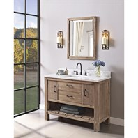 "Fairmont Designs Napa 48"" Open Shelf Vanity - Sonoma Sand 1507-VH48"