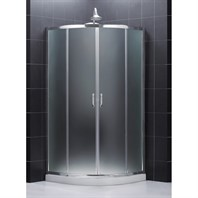 "Bath Authority DreamLine Prime Frameless Sliding Shower Enclosure (31-3/8"" by 31-3/8"") SHEN-7031310"