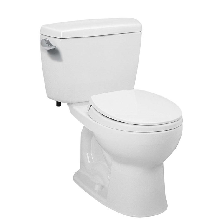 TOTO Eco Drake Two-Piece Round Toilet, 1.28 GPF CST743E