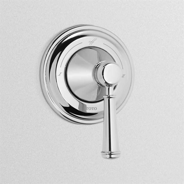 TOTO Vivian Two-Way Diverter Trim with Off - Lever Handle TS220D1