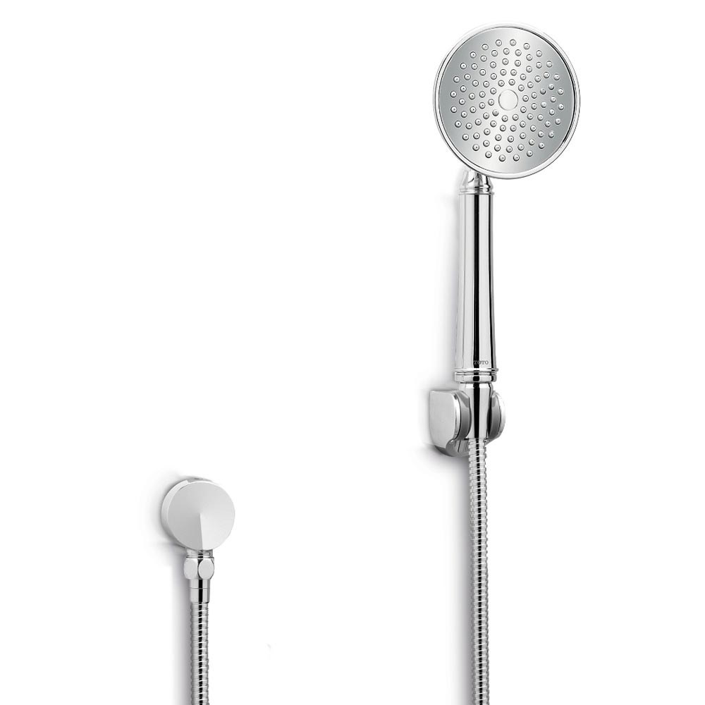 "TOTO Traditional Collection Series A Single-Spray Handshower, 4-1/2"" - 2.0 GPMnohtin Sale $68.80 SKU: TS300FL51 :"