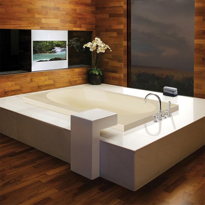MTI Akana Drop In Bathtub 65625 inch x 37875 inch x 215 inch