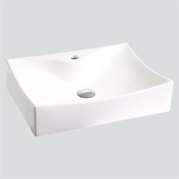 Zen Porcelain Vessel Sink