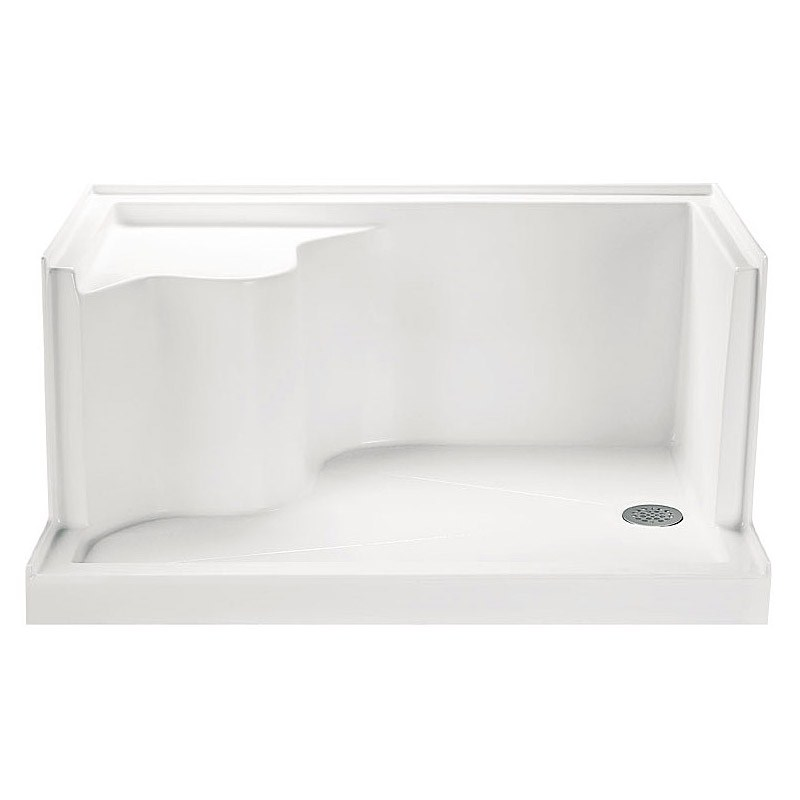 "MTI MTSB-4832Seated Shower Base (48"" x 31.5"" x 22.75"")nohtin Sale $1068.75 SKU: MTSB-4832SEATED :"
