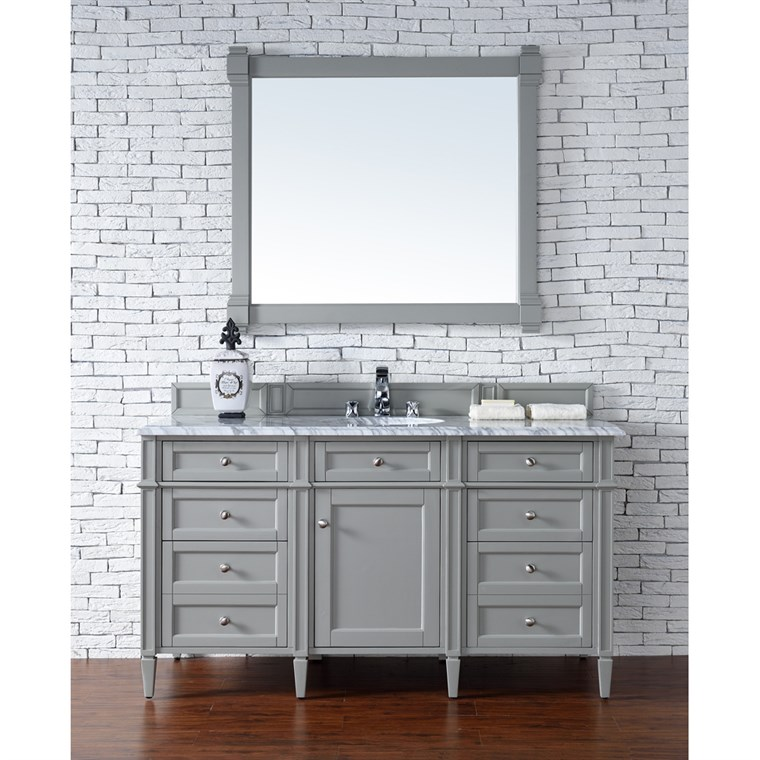 "James Martin 60"" Brittany Single Vanity - Urban Gray 650-V60S-UGR"