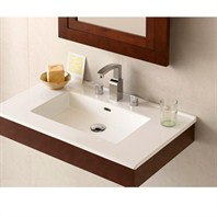 "RONBOW Adina 36"" Vanity Integrated - Dark Cherry RONBOW 015636-H01-INTEGRATED"