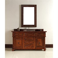 "James Martin 60"" Continental Single Vanity - Burnished Cherry 100-V60S-BCH"