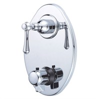 Danze® Opulence™ Two Handle Thermostatic Shower Trim Kit - Chrome