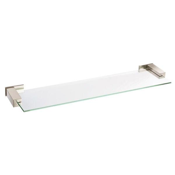 "Danze® Sirius™ Glass Shelf 24"" - Brushed Nickelnohtin Sale $108.00 SKU: D446135BN :"