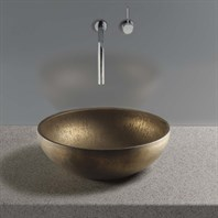 TOTO Waza Aya Vessel Lavatory, Burnished Gold LT162#72