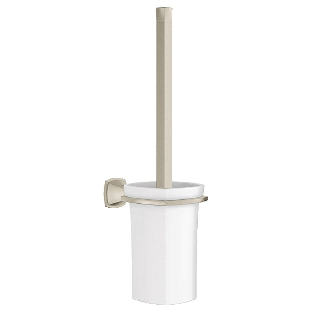 Grohe Grandera Toilet Brush Set - Brushed Nickelnohtin