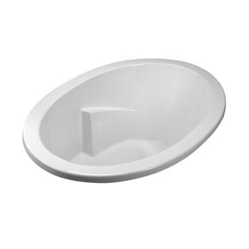 """MTI Basics Bathtub, 59.5"""" x 41.5"""" x 21.75"""" MBODI6042 by MTI"""