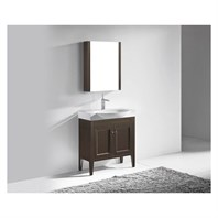 "Madeli Sanremo 32"" Bathroom Vanity - Walnut B924-32-001-WA"