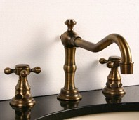 Heritage 2 Bathroom Faucet - Antique Brass