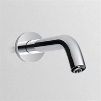 TOTO Helix Wall-Mount EcoPower Sensor Faucet, Single Supply - 0.5 GPM - Polished Chrome TEL3LW10R.CP