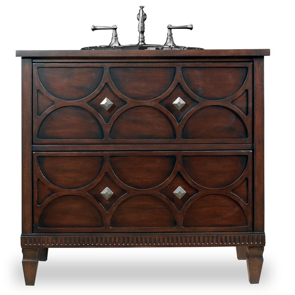 "Cole & Co. 36"" Designer Series Collection Dalton Sink Chest - Aged Chestnutnohtin Sale $2692.50 SKU: 11.22.275536.08 :"