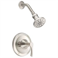 Danze Antioch Trim Only Single Handle Pressure Balance Shower Faucet - Brushed Nickel D500522BNT