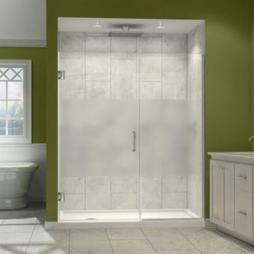 x hinged h dreamline w dp shower shdr frameless door unidoor in plus doors