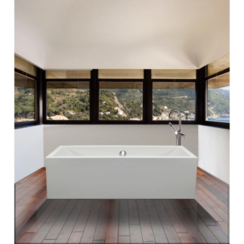 """MTI Andrea 4A Freestanding Sculpted Tub (65.875"""" x 32"""" x 22.25"""")nohtin Sale $4743.75 SKU: MTDS-94A :"""