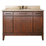 "Avanity Madison 48"" Bathroom Vanity - Tobacco MADISON-48-TO"