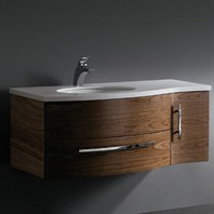 Vigo 44-inch Single Bathroom Vanity - Black Walnut VG09005108LHK1