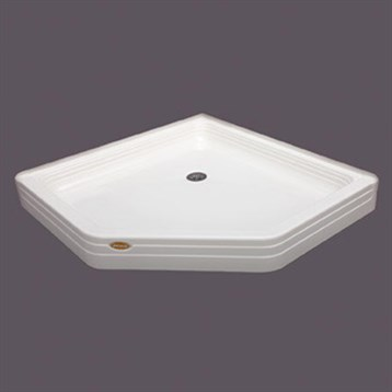 Jacuzzi Signature Tru Level Showerbase Neo Angle 48x48 Free Shipping