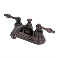 Danze® Sheridan™ Two Handle Centerset Lavatory Faucet - Tumbled Bronze D301155BR