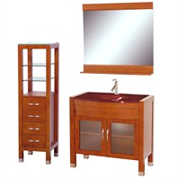 "Daytona 36"" Bathroom Vanity Set - Cherry A-W2109-36-CH-SET"