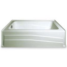 "Americh Malcolm 6032 Left Hand Tub (60"" x 32"" x 19"") MC6032L"