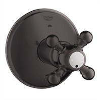 Grohe Geneva 3-Port Diverter Trim - Oil Rubbed Bronze
