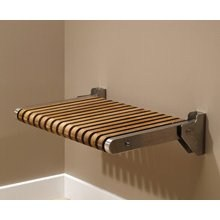 "MTI Teak Shower Seat (24"" x 16"")nohtin"