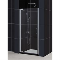 "Bath Authority DreamLine Elegance Frameless Pivot Shower Door with Handle (25-1/4"" to 27-1/4"") SHDR-4125720"