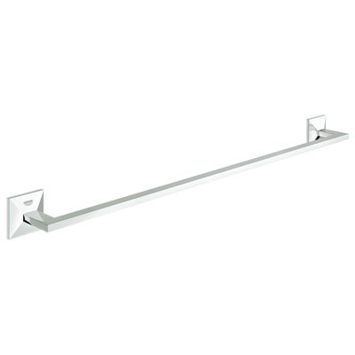 "Grohe Allure Brilliant 24"" Towel Bar - Starlight Chrome GRO 40497000"