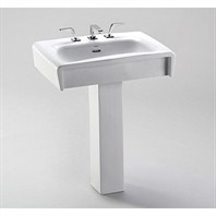 TOTO Ethos™ Design C Lavatory w/ SanaGloss (Sink Only)