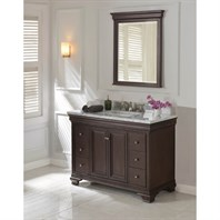 "Fairmont Designs Providence 48"" Vanity for Rectangular Sink - Aged Chocolate 1529-V48_"