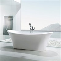 "BTK1528 71"" Soaking Bathtub by Wyndham Collection - White WC-BTK1528-71"