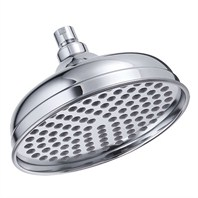 "Danze® 8"" Antique Bell Showerhead - Chrome"
